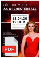 PDF Flyer 22. Orchesterball